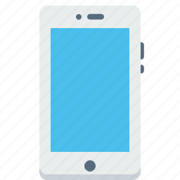 cell, communication, device, iphone, mobile, phone icon