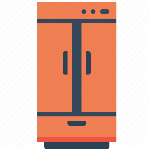 appliance, cold, electronic, freezer, fridge, kitchen, refrigerator icon