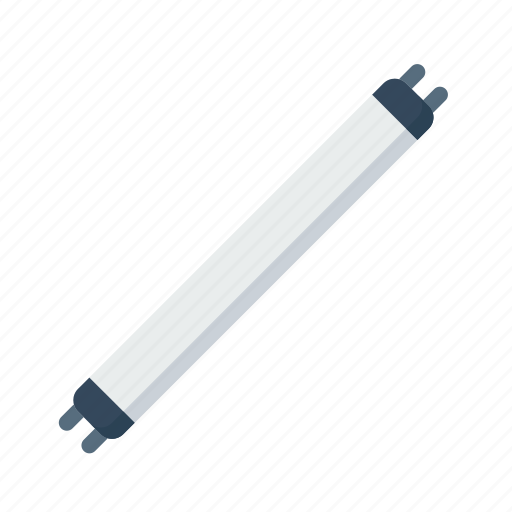 cfl, electric, electricity, light, source, tube, tubelight icon