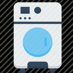 appliances, cloth, cloths, laundry, machine, washer, washing icon