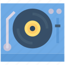 device, disk, electronic, media, player, record icon