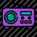 fm, radio, music, speaker