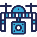 action, aircraft, camera, device, drone, electronic icon