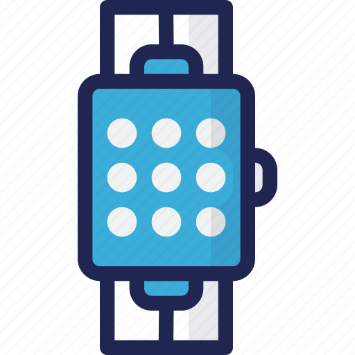 application, device, electronic, smart, watch icon