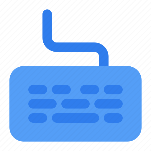 Computer, device, electronic, hardware, keyboard, multimedia, typing icon - Download on Iconfinder