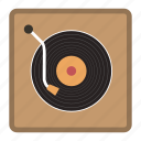 music player, player, vinyl player icon