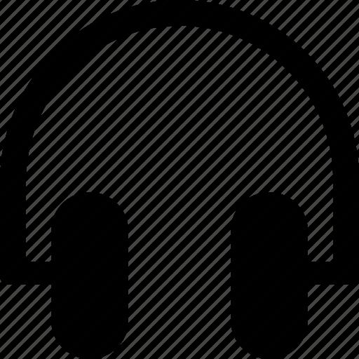 electronic, elements, headphones, multimedia, technology icon