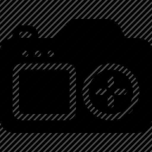 camera, electronic, elements, multimedia, photo, technology icon