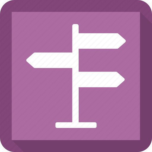direction, direction sign, road sign, sing icon
