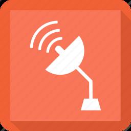 radio, seti, signal, telescope icon