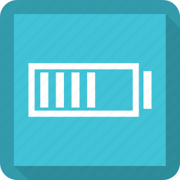 battery, battery level, battery status, low battery icon