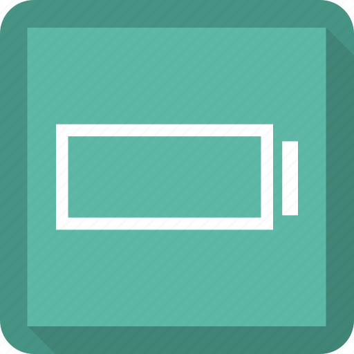 battery, empty, low icon