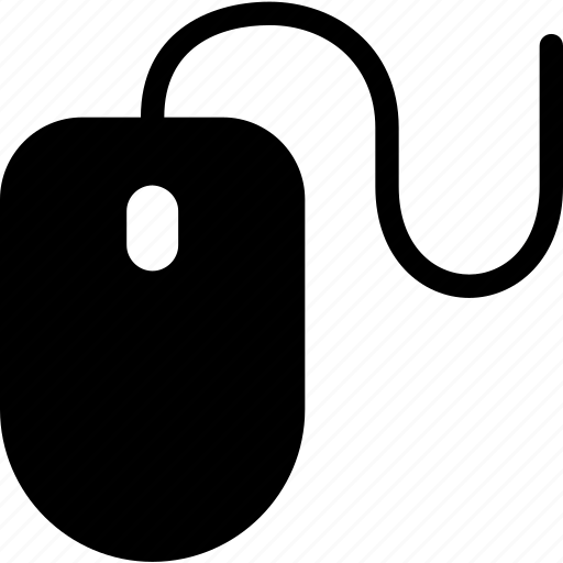 electronic, elements, mouse, multimedia, technology icon