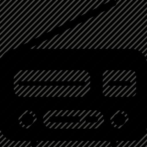 electronic, elements, multimedia, radio, technology icon