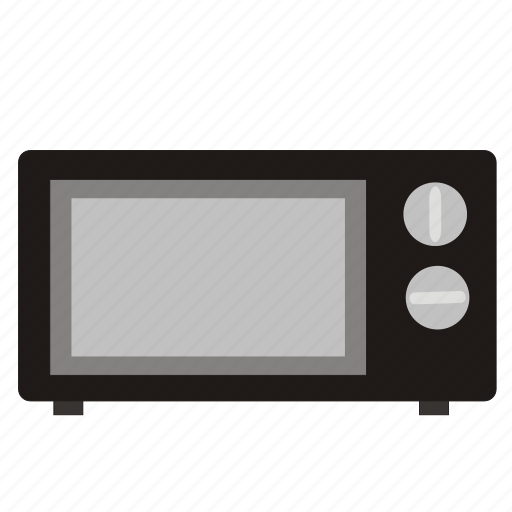 electronic, microwave icon