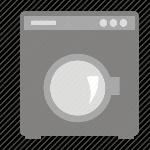 electronic, machine, washing icon