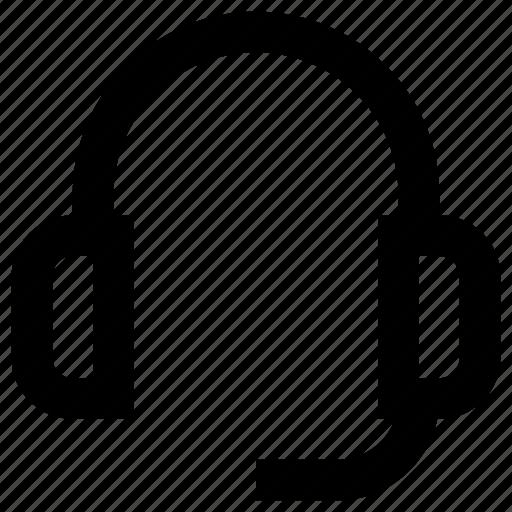 customer, electric, electronic, headphone, headphones, headset, service icon