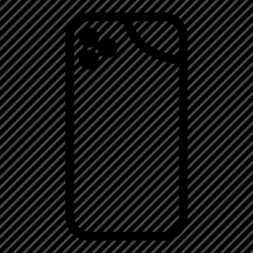 Handphone, mobile, phone, smartphone icon