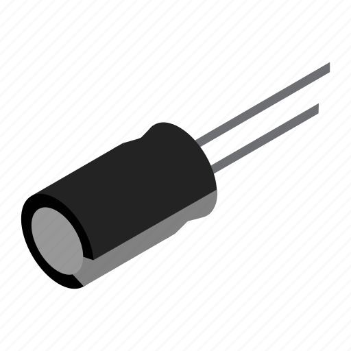 Capasitor, electronics, technology, device, electronic, gadget, hardware icon - Download on Iconfinder