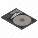 disk, technology, hard drive, device, hardware, computer