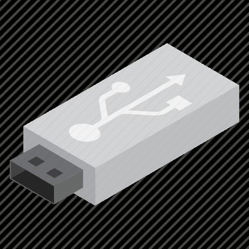 pendrive, storage, technology icon