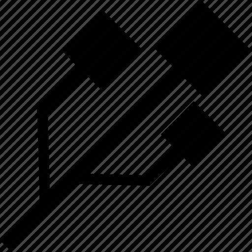 usb connection, usb logo, usb port, usb sign, usb symbol icon