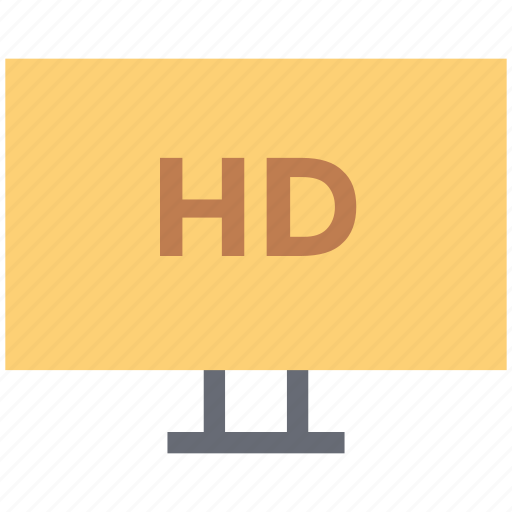 display, hd tv, high definition screen, monitor, tv screen icon