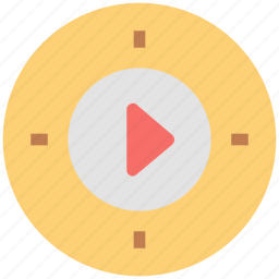 media play, multimedia, multimedia button, play button, video player icon