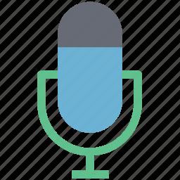 audio recording, handheld mic, mic, microphone, radio mic, sound, voice recording icon