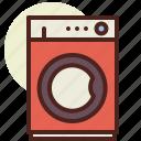 dryer, kitchen, machine, room, tech icon