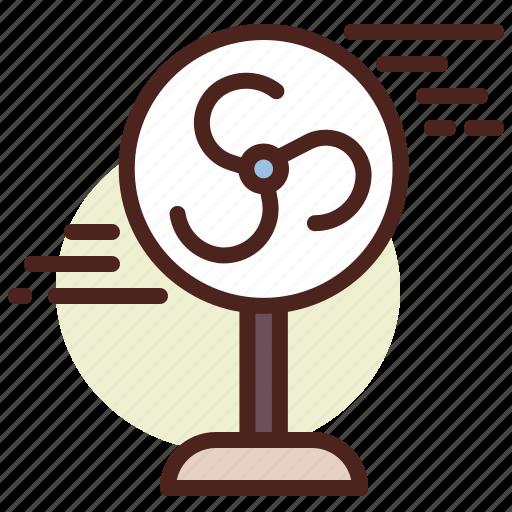 fan2, kitchen, room, tech icon