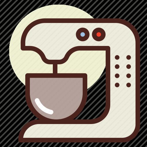 kitchen, robot, room, tech icon