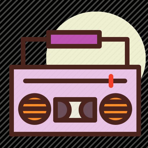 box, kitchen, music, room, tech icon