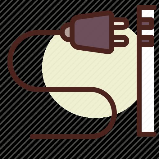 kitchen, plug2, room, tech icon