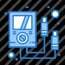 ammeter, electronics, meter, multi