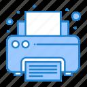 fax, print, printer, printing
