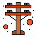 electric, power, tower icon