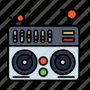 midi, mixer, music