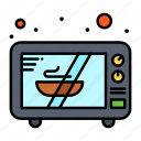 electronics, microwave, oven icon