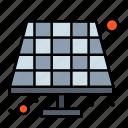 battery, eco, solar icon