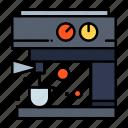 coffee, machine, maker