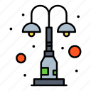 elements, light, lights, park, street icon