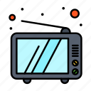device, retro, television, tv icon
