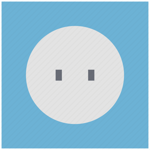 electric socket, plug socket, plugin, power plug, socket, wiring accessories icon