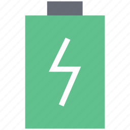 battery, battery charging, battery level, battery status, charging icon