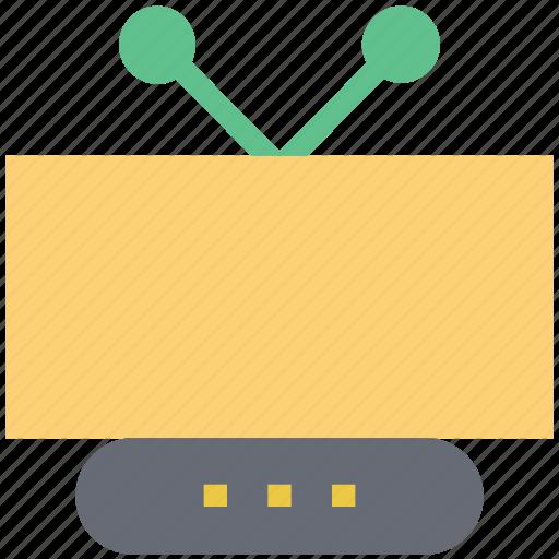 electronics, retro tv, technology, transmission, tv, tv set, vintage tv icon
