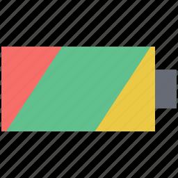 battery, battery level, battery status, full battery, mobile battery icon