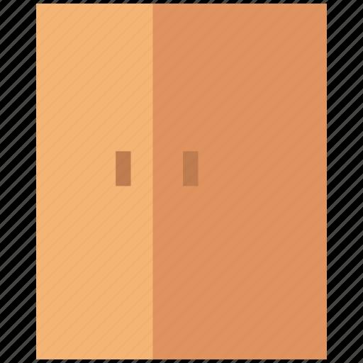 double door fridge, electronics, fridge, home appliance, kitchen equipments, refrigerator icon