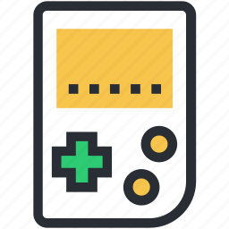 entertainment, game, game device, gameboy, videogame icon