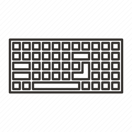 computer, device, electronic, input, keyboard, typing icon